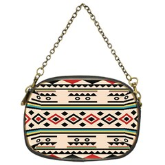 Tribal Pattern Chain Purses (one Side)