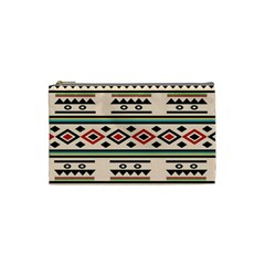 Tribal Pattern Cosmetic Bag (small)
