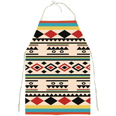 Tribal Pattern Full Print Aprons