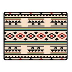 Tribal Pattern Fleece Blanket (small)