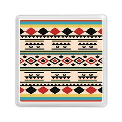 Tribal Pattern Memory Card Reader (square)
