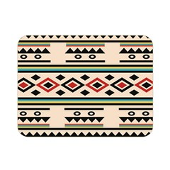 Tribal Pattern Double Sided Flano Blanket (mini)