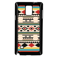 Tribal Pattern Samsung Galaxy Note 4 Case (black)