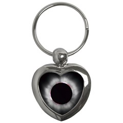 Solar Eclipse Key Chains (heart)
