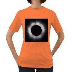 Solar Eclipse Women s Dark T Shirt