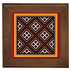 Toraja Pattern Pa re po  Sanguba ( Dancing Alone ) Framed Tiles