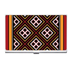 Toraja Pattern Pa re po  Sanguba ( Dancing Alone ) Business Card Holders