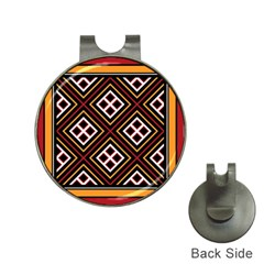 Toraja Pattern Pa re po  Sanguba ( Dancing Alone ) Hat Clips With Golf Markers
