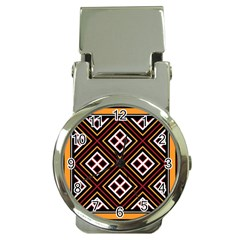 Toraja Pattern Pa re po  Sanguba ( Dancing Alone ) Money Clip Watches