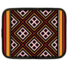 Toraja Pattern Pa re po  Sanguba ( Dancing Alone ) Netbook Case (xxl)