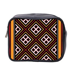 Toraja Pattern Pa re po  Sanguba ( Dancing Alone ) Mini Toiletries Bag 2 Side