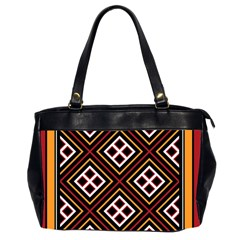 Toraja Pattern Pa re po  Sanguba ( Dancing Alone ) Office Handbags (2 Sides)
