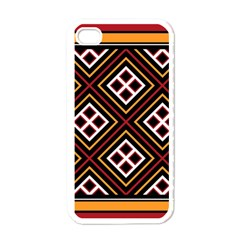 Toraja Pattern Pa re po  Sanguba ( Dancing Alone ) Apple Iphone 4 Case (white)