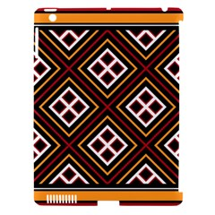 Toraja Pattern Pa re po  Sanguba ( Dancing Alone ) Apple Ipad 3/4 Hardshell Case (compatible With Smart Cover)