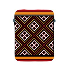 Toraja Pattern Pa re po  Sanguba ( Dancing Alone ) Apple Ipad 2/3/4 Protective Soft Cases
