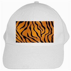 Tiger Skin Pattern White Cap