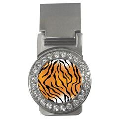 Tiger Skin Pattern Money Clips (cz)