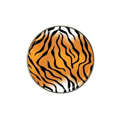 Tiger Skin Pattern Hat Clip Ball Marker (10 Pack)
