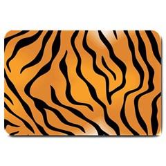 Tiger Skin Pattern Large Doormat