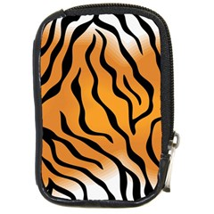 Tiger Skin Pattern Compact Camera Cases