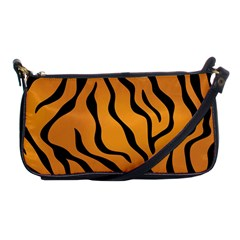 Tiger Skin Pattern Shoulder Clutch Bags