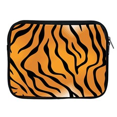 Tiger Skin Pattern Apple Ipad 2/3/4 Zipper Cases