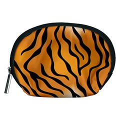 Tiger Skin Pattern Accessory Pouches (medium)
