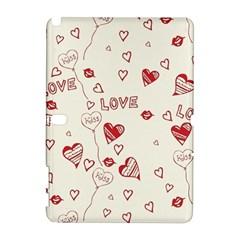 Pattern Hearts Kiss Love Lips Art Vector Galaxy Note 1