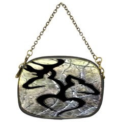 Black Love Browning Deer Camo Chain Purses (two Sides)