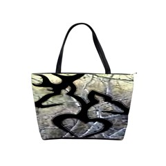 Black Love Browning Deer Camo Shoulder Handbags