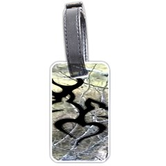Black Love Browning Deer Camo Luggage Tags (two Sides)