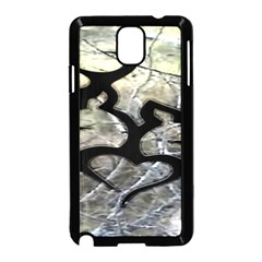 Black Love Browning Deer Camo Samsung Galaxy Note 3 Neo Hardshell Case (black)