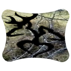 Black Love Browning Deer Camo Jigsaw Puzzle Photo Stand (bow)