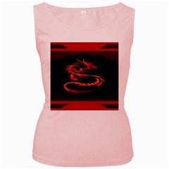 Dragon Women s Pink Tank Top