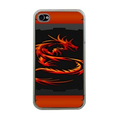 Dragon Apple Iphone 4 Case (clear)