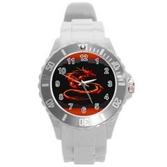 Dragon Round Plastic Sport Watch (l)