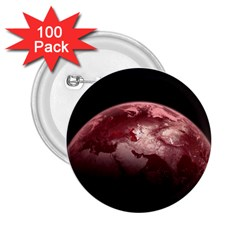 Planet Fantasy Art 2 25  Buttons (100 Pack)