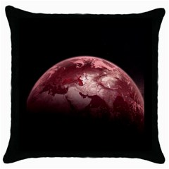 Planet Fantasy Art Throw Pillow Case (black)