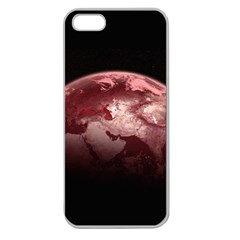 Planet Fantasy Art Apple Seamless Iphone 5 Case (clear)