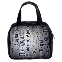 Science Formulas Classic Handbags (2 Sides)