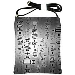 Science Formulas Shoulder Sling Bags