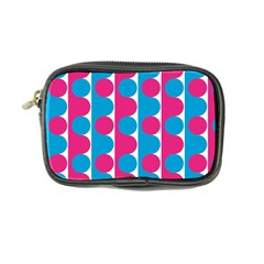 Pink And Bluedots Pattern Coin Purse