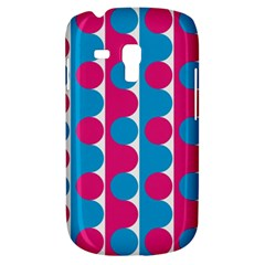 Pink And Bluedots Pattern Galaxy S3 Mini