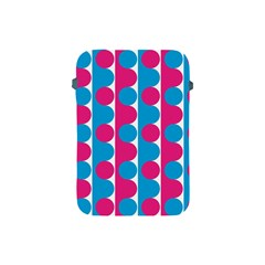 Pink And Bluedots Pattern Apple Ipad Mini Protective Soft Cases