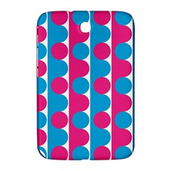 Pink And Bluedots Pattern Samsung Galaxy Note 8 0 N5100 Hardshell Case