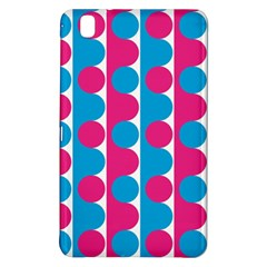 Pink And Bluedots Pattern Samsung Galaxy Tab Pro 8 4 Hardshell Case