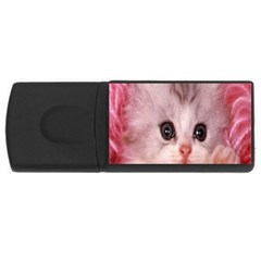 Cat  Animal  Kitten  Pet Rectangular Usb Flash Drive