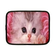 Cat  Animal  Kitten  Pet Netbook Case (small)