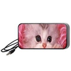 Cat  Animal  Kitten  Pet Portable Speaker (black)