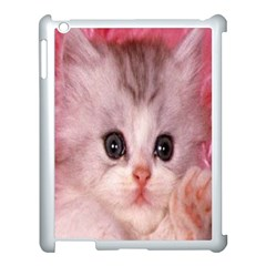 Cat  Animal  Kitten  Pet Apple Ipad 3/4 Case (white)